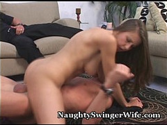 Brunette, Cuckold Couple, Hot MILF, Hot Wife, Milf, Naughty Wife, Small Penis, Housewife, Hot Mom Son, Perfect Booty