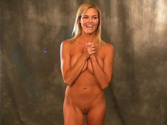 Audition, Blonde, couch, Fashion Model, Nude, Talk, Topless Sex, Mature Perfect Body