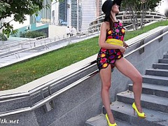 dark Hair, High Heels Fuck, leg, Outdoor, spying, Girl Public Fucked, Prostitutes Street, upskirts, Perfect Body Teen