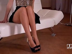 Erotic Foreplay, Pantyhose, erotic, Pussy Tease, Solo