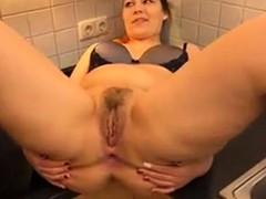 Huge Ass, fucked, Hot MILF, Hot Mom and Son, Son Fuck Mom in Kitchen, milfs, MILF Big Ass, Perfect Ass, Perfect Body Anal, Footjob Under Table