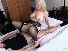 fucked, Hot MILF, Fucking Hot Step Mom, Hotel Room Service, Milf Seduces, Young Girl
