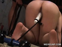 Girl Chained and Fucked, Cunt Licking, Drilled, fuck Videos, Machine Orgasm, Perfect Body Fuck, Bdsm Slave