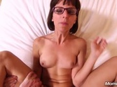 Facial, Hot MILF, Hot Mom and Son, milfs, Perfect Body Anal, squirting