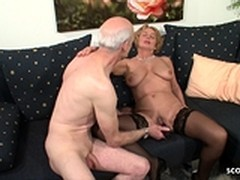 Beauties Get Cash, audition, German, German Anal Casting, Grandpa Anal, Money, Perfect Body Anal Fuck