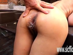 Anal, Double Anal Fisting, Butt Fuck, Assfucking, Abnormal Fuck, Buttfucking, fisted, Bizarre Insertion, Perfect Body Masturbation