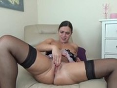 Extreme Dildo, Pussy, Real, Unshaved