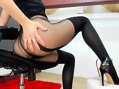 Amateur Video, Babe Butt Dildoing, Perfect Butt, Vibrator Orgasm, Fetish, Nylon, Perfect Ass, Perfect Booty, Solo, Single Babe, vibrator