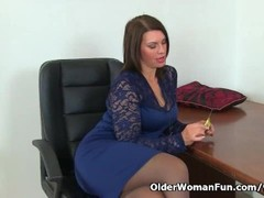 Longest Dildo, Hd, Hot MILF, Milf, Milf, Pantyhose, Mature Perfect Body, Husband Watches Wife, Couple Fuck While Watching Porn