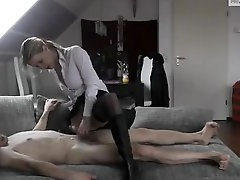 Amateur Porn Tube, Real Wife, Blonde, Blonde MILF, Hot MILF, Hot Mom and Son, Jerk Off Encouragement, Guy Jerking Off, milfs, Perfect Body Anal, Watching, Masturbating While Watching Porn