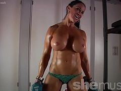 hot Nude Babes, Big Beautiful Tits, Muscle Slut, Brunette, workout, Hot MILF, Huge Tits, m.i.l.f, Huge Boobs, Fitness Girl, Mom Anal, Perfect Body
