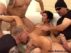 Gagged, Rough Throat Fuck, Sex Games, Gangbang, mature Mom, Mature Gangbang Hd